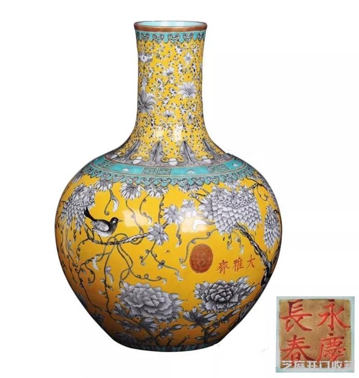 天球瓶对古代皇家有什么特殊意义