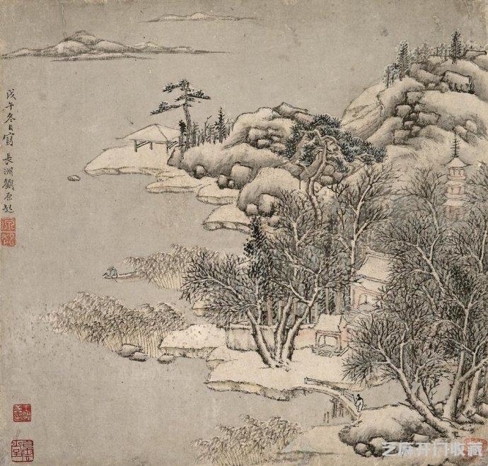 「金六福黄金价格」画家刘原起山水画欣赏