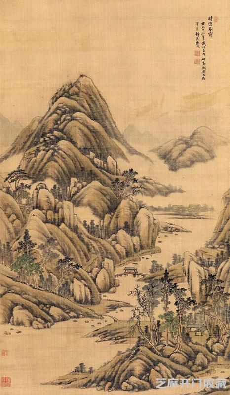 「天马行空图片」被康熙赐称画状元的是哪位画家
