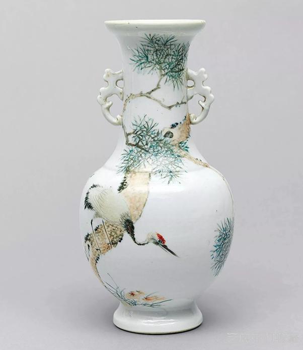 「唐三彩图片」光绪浅绛彩瓷器为何价值普遍低于粉彩瓷