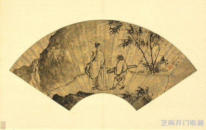 「1980年5元人民币价格」浙派画家蒋嵩绘画作品欣赏