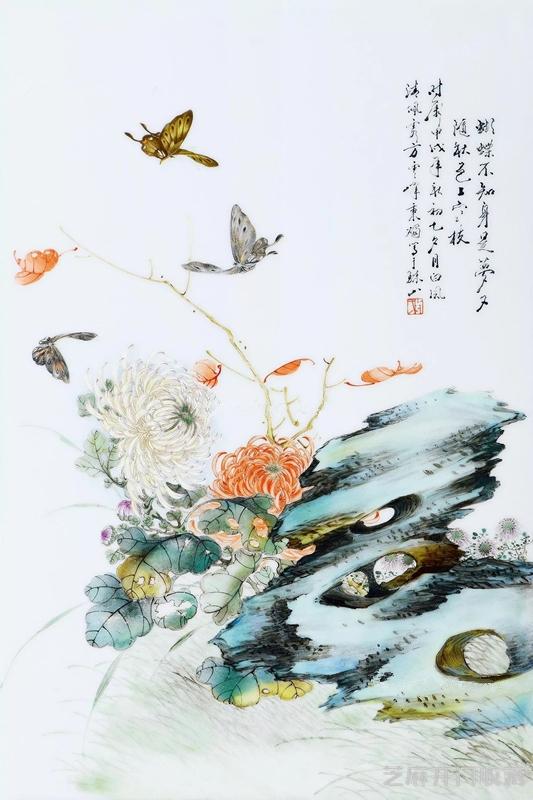 [古玩修复]为什么说方云峰的瓷画可与珠山八友一较高下