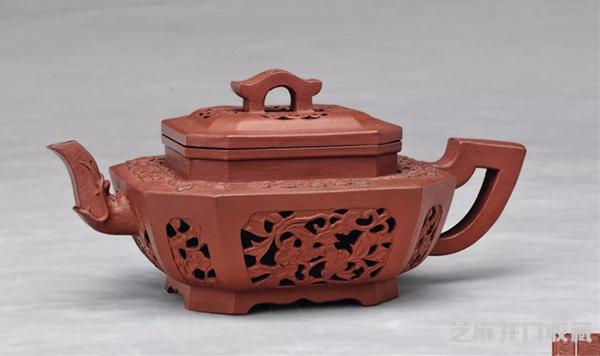 [精品收藏]紫砂名家华凤祥与他的汉方壶