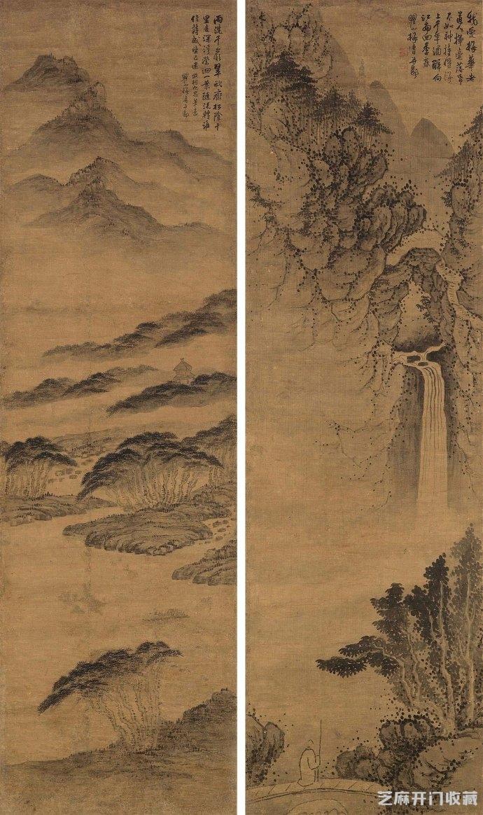 [古籍收藏]梅清山水画在拍卖场上的表现