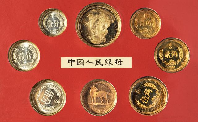 1982年精制硬币八枚全套