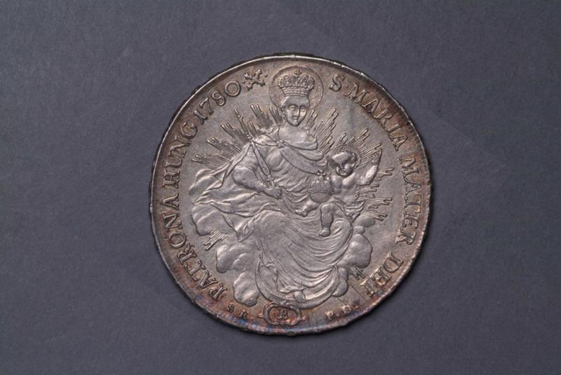 1780年匈牙利壹塔勒银币一枚