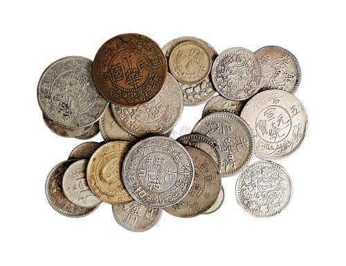 铜元一组二十五枚