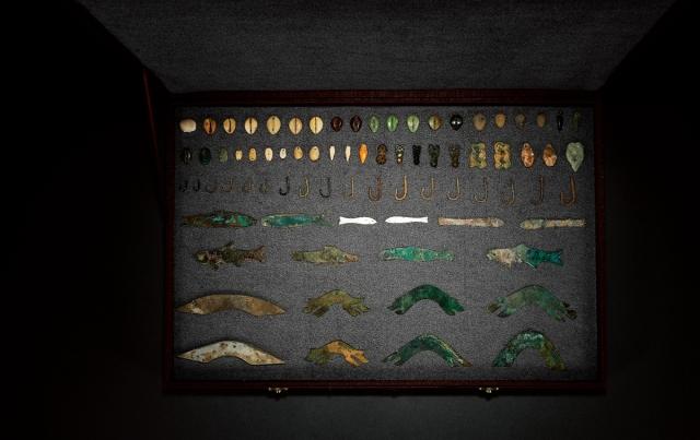 商至西周贝币鱼币鱼钩桥梁币一组七十八枚 美品