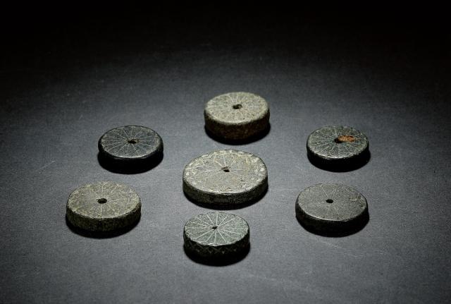 商石币一组 七枚美品
