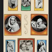 1936年德国印制好莱坞影星香烟画片集一册