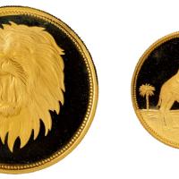 1969年也门纪念金银币全套四枚