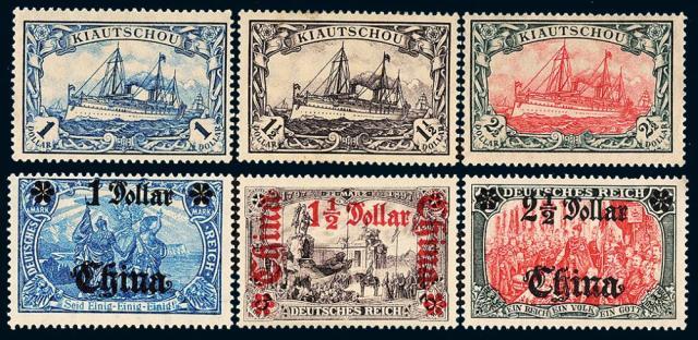 德国客邮改值/特印邮票各10全