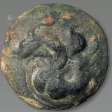 汉铜白金三品之龙币