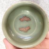 南宋龙泉窑双鱼杯