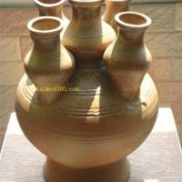 汉代五联陶罐