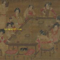 唐 佚名《唐人宫乐图》