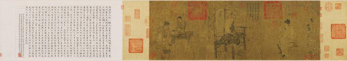 阎立本《萧翼赚兰亭图》的两个宋代摹本