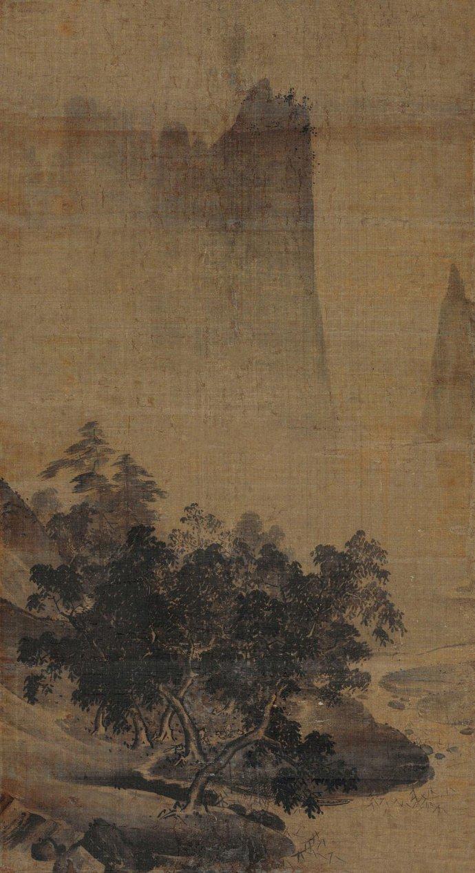 南宋古画《清话图》