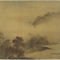 宋 佚名《江山秋色图》