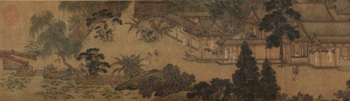 宋 佚名《汉宫秋图》