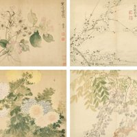 清 恽寿平《花卉册》