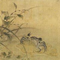南宋 佚名《荷蟹图》