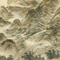 明 宋旭《巨区林屋图》