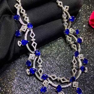 斯里兰卡蓝宝石项链交易价格