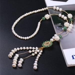 珍珠毛衣链交易价格