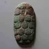 西汉白金三品铅质龟币
