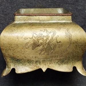 民国铜香炉交易价格