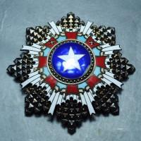 纯银民国勋章
