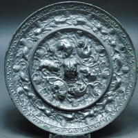 唐代大海兽镜