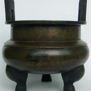民国鼎式铜香炉交易价格