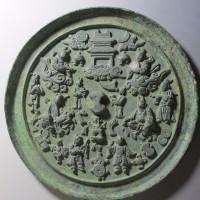 八仙人物多宝纹铜镜