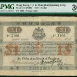 1872年汇丰银行壹圆