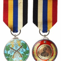 民国初年两湖巡阅使孚威将军吴佩孚赠射击名誉奖章