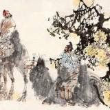 张道兴 刘大为 李翔2005年作《丝路行旅》