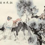 张道兴 刘大为 李翔2005年作《松风猎骑图》