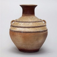 汉原始青瓷壶