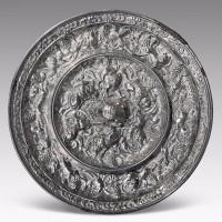 唐海兽葡萄铜镜