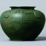 春秋晚期青铜蟠螭纹壶