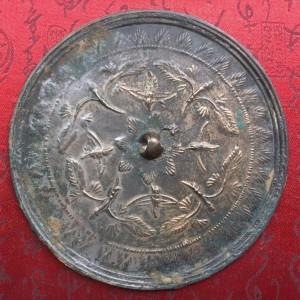 晚唐五代十国时期花鸟纹青铜镜交易价格