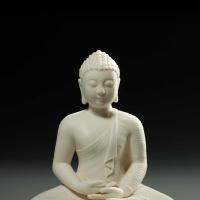 释迦牟尼佛瓷塑