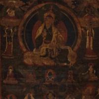 16-17世纪莲花生唐卡