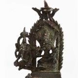帕拉风格 11世纪度母象鼻财神佛像