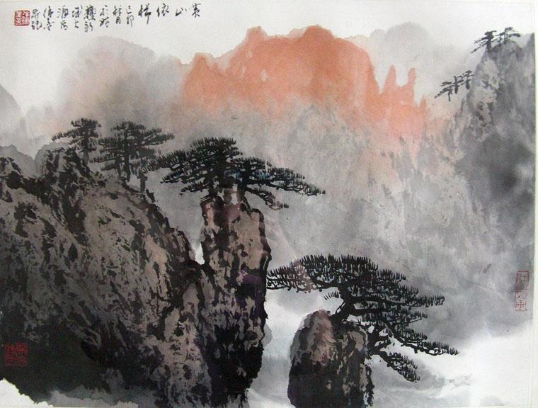 画家徐善先生的艺术年表