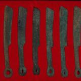 战国燕国所铸燕明刀币十二枚