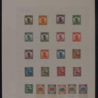 ★1923-1933年北京二版帆船邮票二十二枚全