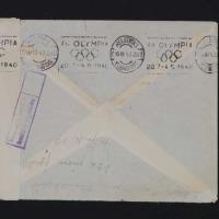 1940年3月荷兰免资检查封一件